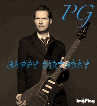 Happy Birthday Paul Gilbert