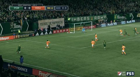 RT @TimbersFC: Vytas with the pinpoint cross; @daironasprilla with the powerful finish. #RCTID #MLSCupPlayoffs https://t.co/JCzyIFWFRk