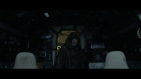 Luke Skywalker returns to the Millennium Falcon in the new Star Wars: The Last Jedi trailer.