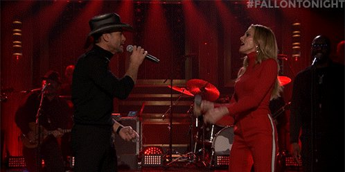 RT @FallonTonight: Turn it up! @TheTimMcGraw & @FaithHill are performing