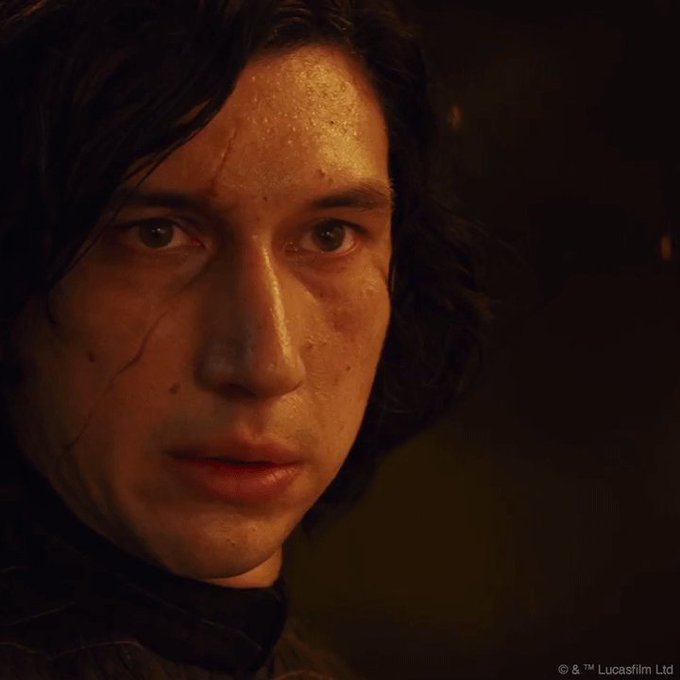 Happy birthday to the man behind Kylo Ren\s mask, Adam Driver