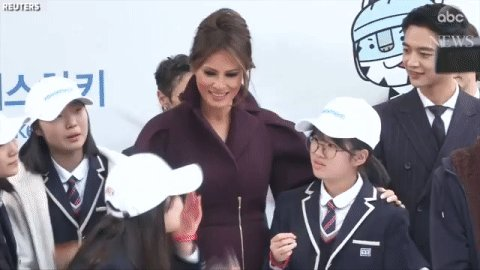 First Ladies Melania Trump and melania trump