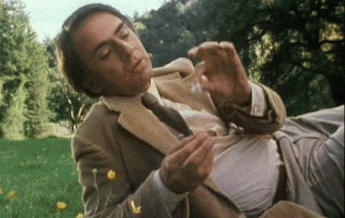 Happy Birthday, Carl Sagan. The only good and pure man I\ve ever wanted to bang.