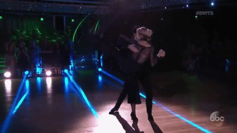 Feel so close to... the FINALS right now! Terrific tango!@LindseyStirling & @MarkBallas! @DancingABC #DWTS