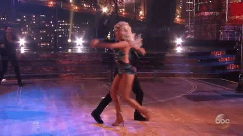 So. Much. FUN!@frankiemuniz & @WitneyCarson! @DancingABC #DWTS