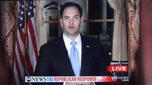 RT @LiberalMmama: HA HA HA HA!! Trump just pulled a Rubio!  #LittleMarco #TrumpPressConference https://t.co/7ILFihLS3t