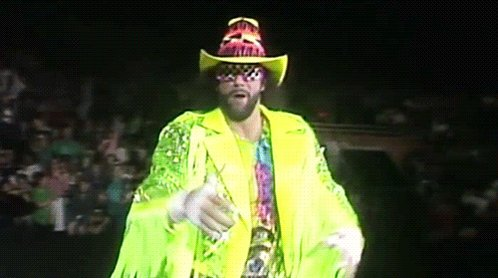 Happy Birthday to my favorite wrestler and spirit animal the late Macho Man Randy Savage!!!