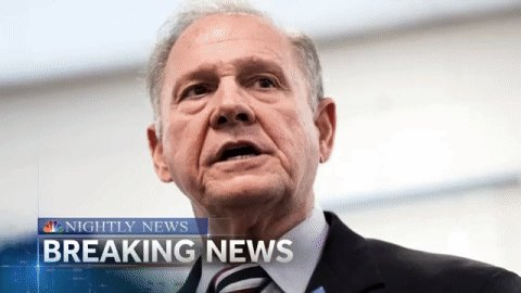 BREAKING 6th woman comes forward tonight to accuse Roy Moore. Details coming up on @NBCNightlyNews.