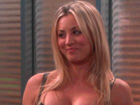 Annnnd a Happy Birthday to Kaley Cuoco!