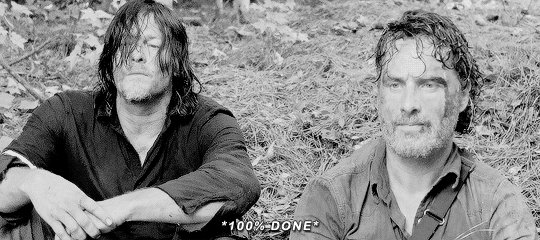 RT @collette04: It the bromance over!! #Rickly #TheWalkingDeadUK https://t.co/wY04aeg0fW