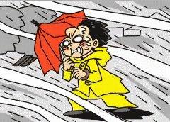 Штормовое предупреждение объявили в нескольких областях Казахстана