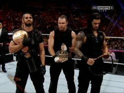 @RomanReignsNet @WWERomanReigns It's only a matter of time before all 3 REIGN over #RAW once again as champions! #BelieveThat https://t.co/hNflHw6LmR