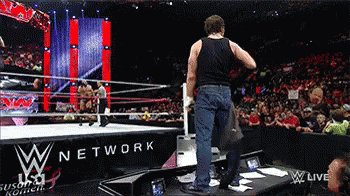 Happy birthday to Dean Ambrose, my favorite wrestler on the planet!