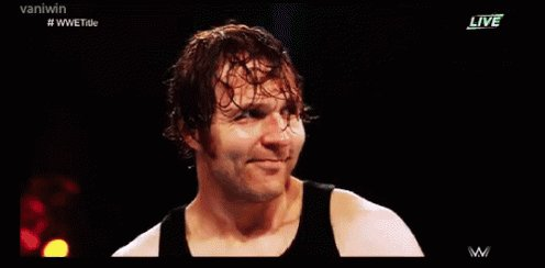 Happy birthday to the Lunatic Fringe and 1/3rd of the Shield, Dean Ambrose!
