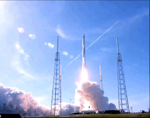 SpaceX launched a used spacecraft on top of a partially used rocket for the first time ever