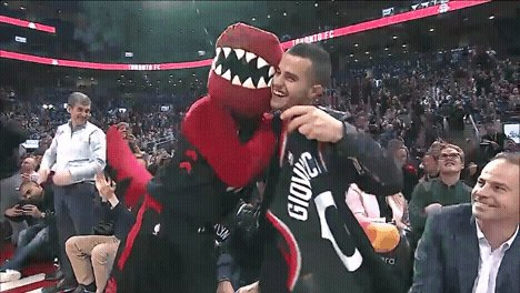 RT @Raptors: CHAMP!   #FreeKickGod | #TFCLive https://t.co/omuLmV8G8b