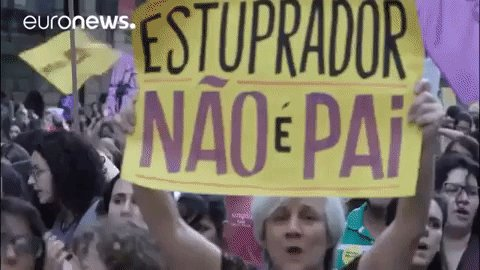 Brazilian women protest over government plans to further restrict access to abortion