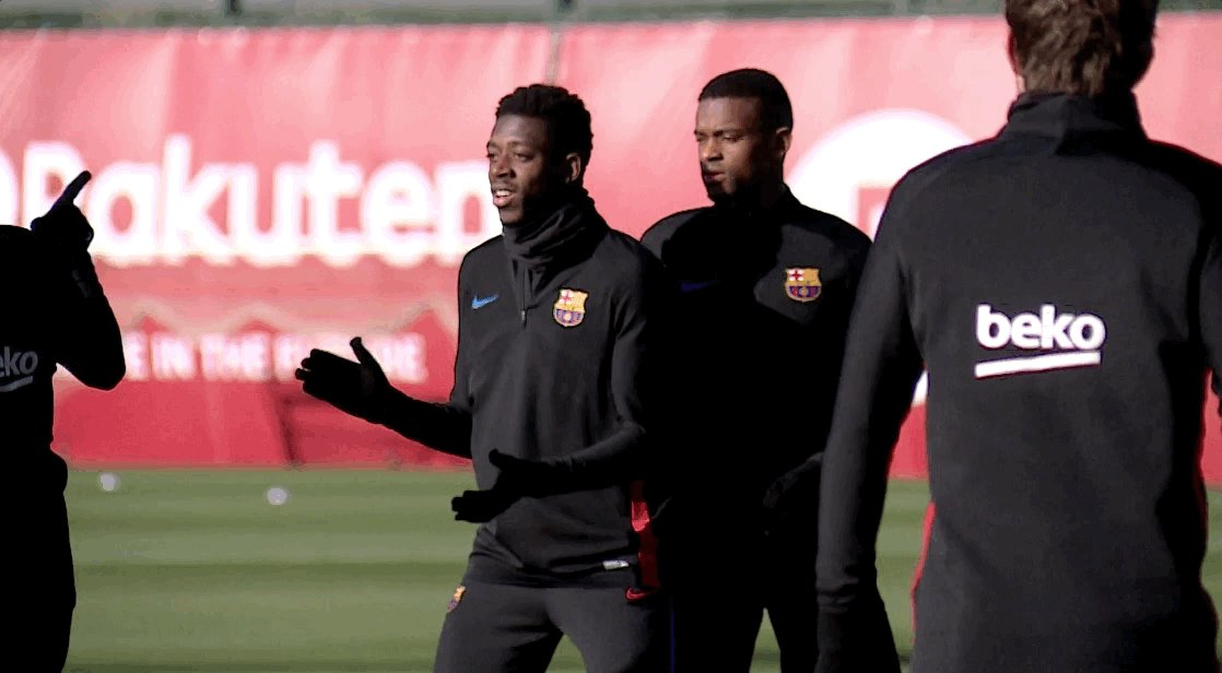 RT @FCBarcelona: ???? 110 days later... #DembeleIsBack ???? @Dembouz https://t.co/XXBJav5V04