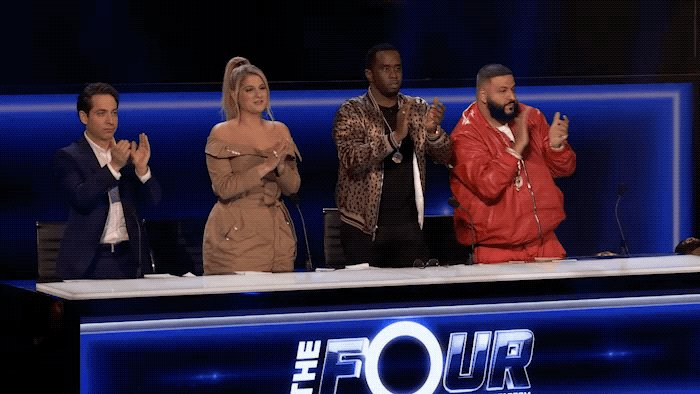 RT @TheFourOnFOX: We're ready for a sound clash! ⚡️ #TheFour https://t.co/5o6eXdJOzH