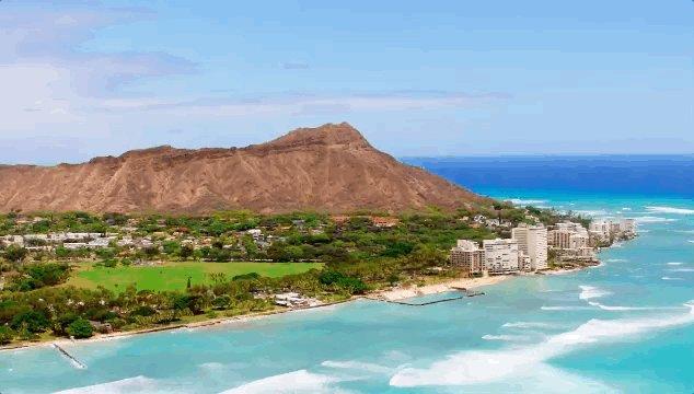 she's on vacation in Hawaii  s hawaii