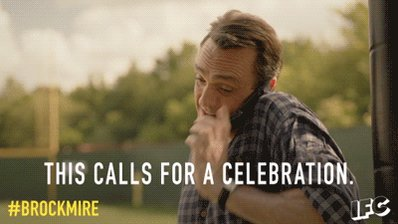 Time to celebrate.   Season 1 of #Brockmire is on the @IFC app. Watch episode 1 for free: https://t.co/FiTbQ9iGNt https://t.co/AZLCJPcxpZ