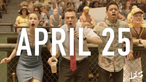 RT @BrockmireIFC: FINALLY some good news. #Brockmire returns April 25 on @IFC. https://t.co/DPBUBVf3R4