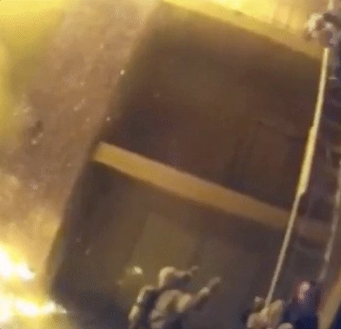 Stunning footage shows Georgia firefighter catching child thrown from balcony