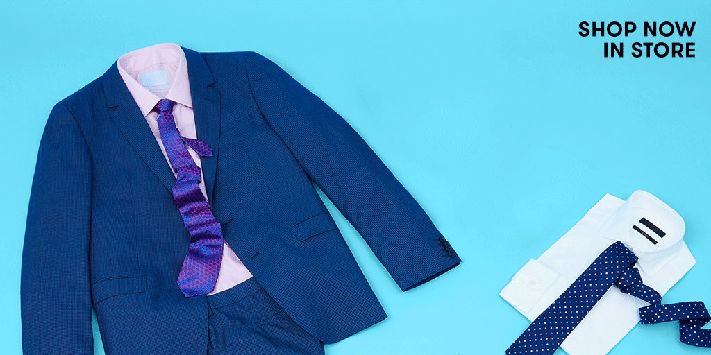 Up the style stakes with tailored suits and designer accessories, at prices that fit you. Shop in store now! https://t.co/jjB1zVNDoN