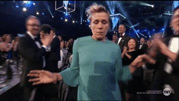 The actors have spoken, and the award goes to... Frances McDormand!
