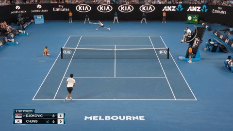 Australian Open: Novak Djokovi chung