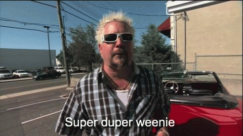 Happy birthday to my birthday twin Guy Fieri. I hope my hair ages to the same bleach color yours did.