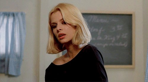 Happy birthday Nastassja Kinski.  Here she is in Wenders\ Paris, Texas.