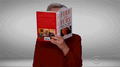 "Hillary Clinton joins Trump-mocking skit at the Grammys, reads excerpt from ""Fire and Fury"""