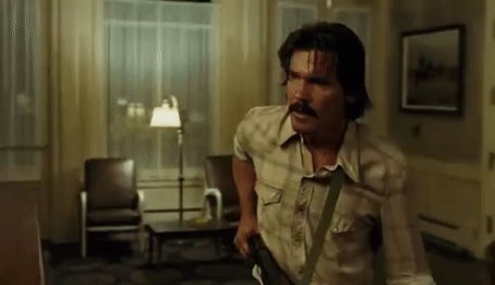 Happy Birthday, Josh Brolin! Llewelyn, in No Country for Old Men (2007).
