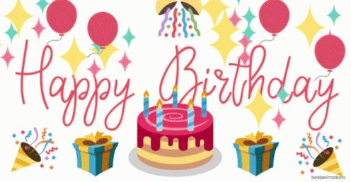 Wishing a very Happy Birthday from across the pond in the United Kingdom