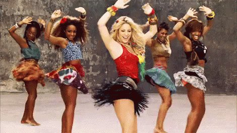 Today we re channelling our inner Shakira  Happy 41st birthday!