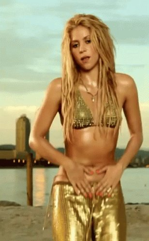 And also a very happy birthday to Shakira