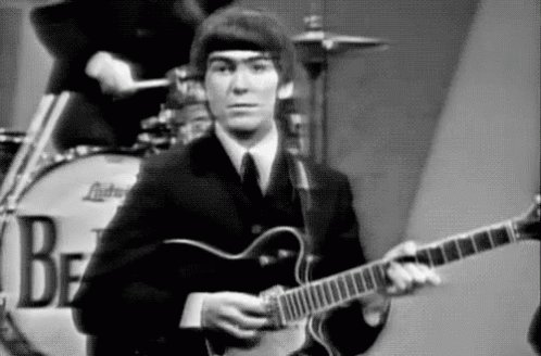 Happy birthday part 1 to george harrison. a man too great for just one birthday.