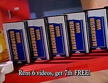 Lets get some VHS tapes at Blockbuster this weekend!#ImShowingMyAge https://t.co/S60wrFI2GK