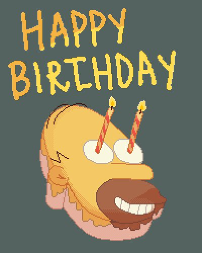 Happy birthday, Matt Groening!  via