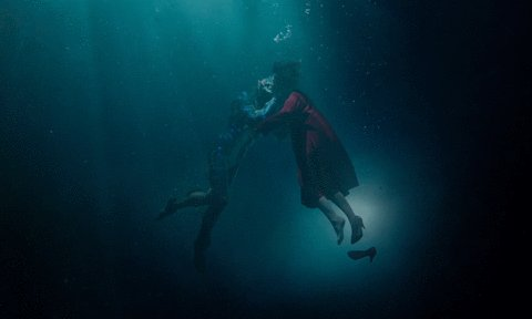 #TheShapeOfWater is definitely Guillermo del Toro. Love the color grading and production design. #Oscars #Oscars2018 https://t.co/oyVCL9exTV