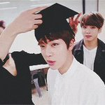 RT : it's officially seokjin's graduatio...