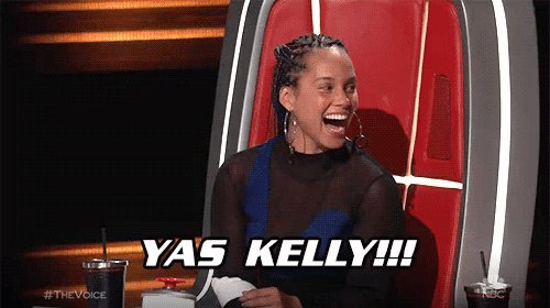 My girl @Kelly_Clarkson got it! I'm looking forward to seeing the ???? your team will bring. ???? #TheVoice https://t.co/6qw3tjORMw