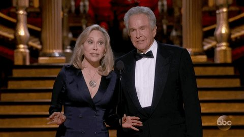 Warren Beatty and Faye Dunaway redeem themselves at Oscars with Best Picture do-over