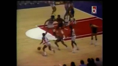 HAPPY BIRTHDAY WES UNSELD. SHOUTS OUT THOSE OUTLET PASSES! HERE S HIM SETTING A MEAN PICK!