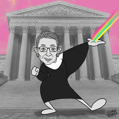 Happy birthday to Justice Ruth Bader Ginsburg!