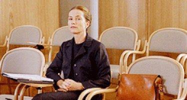 La Pianiste (France; 2001) directed by Michael Haneke.   Happy Birthday, Isabelle Huppert!
