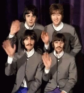 John, Paul, George, and Ringo #TheBeatlesIn5Words https://t.co/H9ldENcFIy