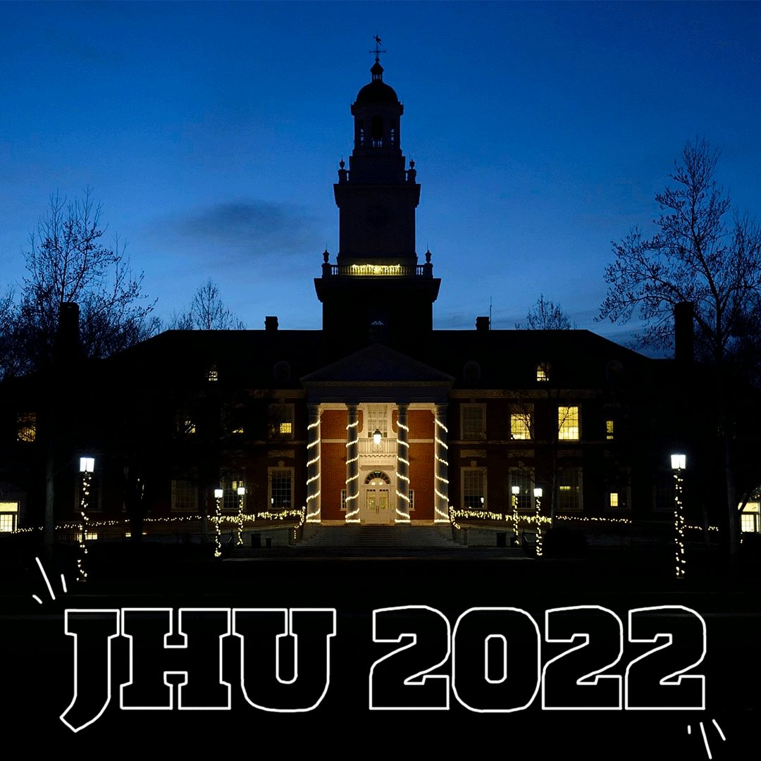 RT @JHU_Admissions: Congratulations, #jhu2022! We can't wait to welcome you to campus. https://t.co/iXLUTYYSOH