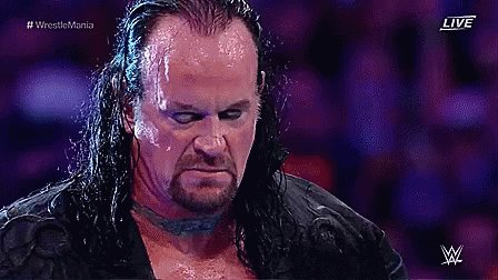 Happy birthday to the undertaker!